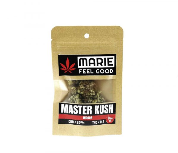 Master Kush Package Front